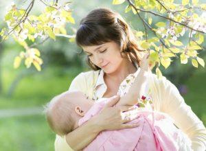 mother-breastfeeding-child